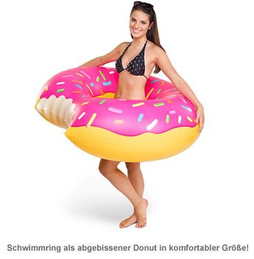 Aufblasbare Luftmatratze - Donut - 2