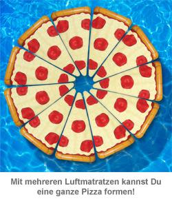 Aufblasbare Luftmatratze - Pizza - 2