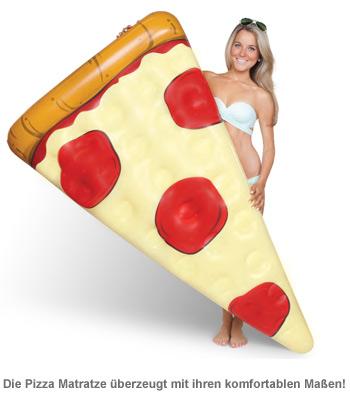 Aufblasbare Luftmatratze - Pizza - 4
