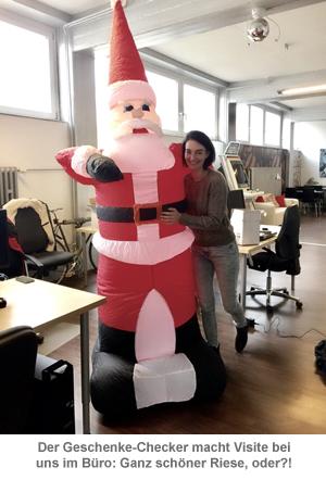 Aufblasbarer Weihnachtsmann XXL - 240 cm - 3
