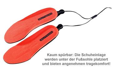 Beheizbare Sohlen - Akku Schuheinlagen - 2