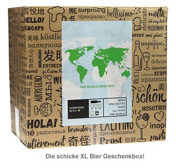 Bier Weltreise XL - 12er Geschenkbox - 4