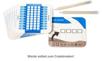 Bierdeckel Spiele - Code Breaker - 2