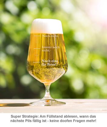Bierglas mit Gravur - Noch eins - 3