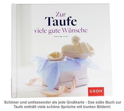 Buch - Zur Taufe viele gute Wünsche - 4