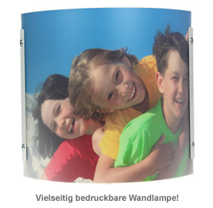 Design Foto Wandlampe - personalisiert - 2