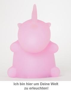 Einhorn Lampe - Pink - 2