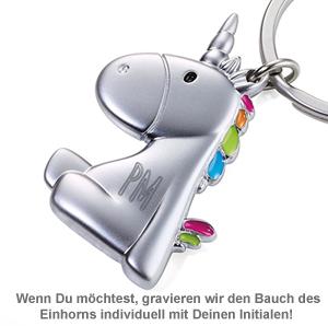 Einhorn Schlüsselanhänger - 2