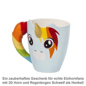 Einhorn Tasse - 3D - 2