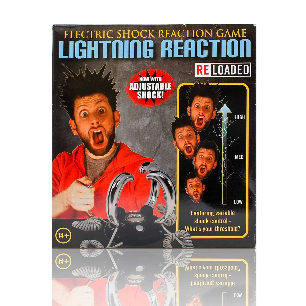 funwill Stromschlag Reaktion Spielzeug Elektroschock Spielzeug Reaktionsspiel Partyspiel
