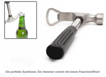 Feierabendhammer mit Flaschenöffner - 2