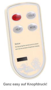 Fußmassagegerät mit Wärmefunktion und 3D Luftmassage - 3