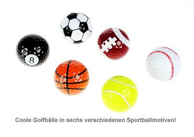 Golfbälle - Sportmotive - 2