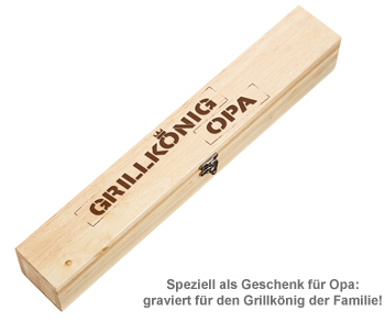 Grillbrandeisen - Grillkönig Opa - 4