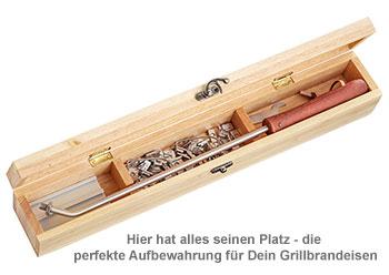 Grillbrandeisen - Grillkönig Papa - 3