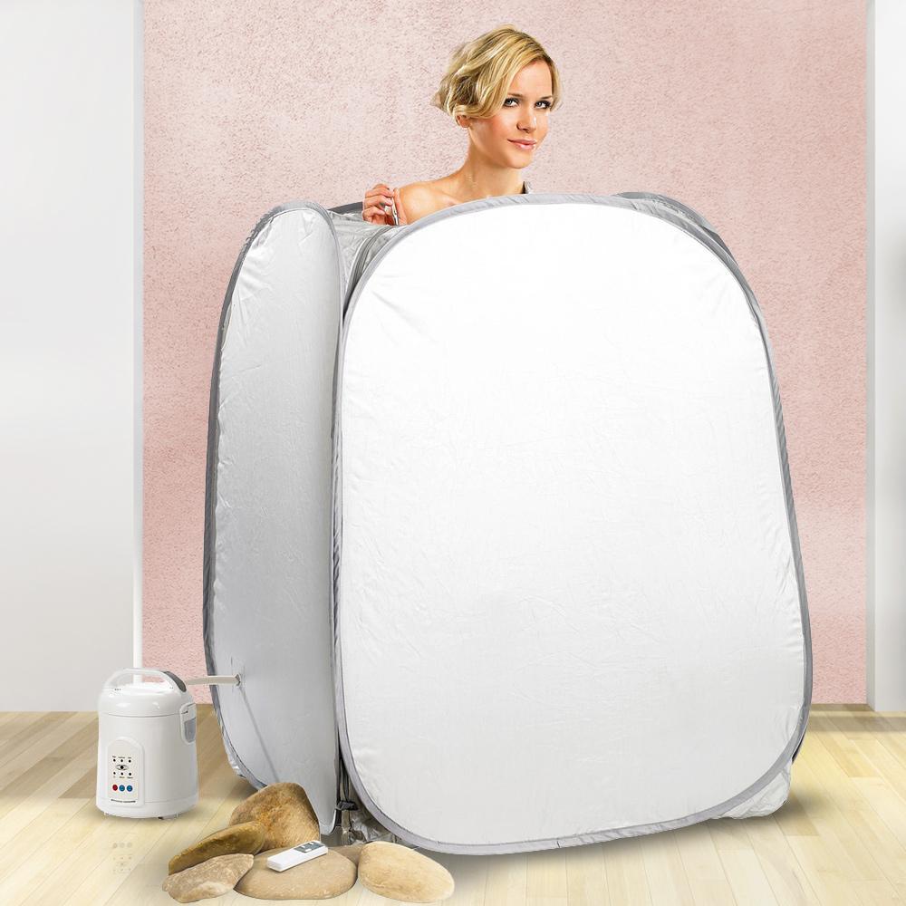 Heimsauna - Dampfbad für zuhause - kompakt, simpel und entspannend