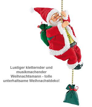 Kletternder Weihnachtsmann - Santa Crawl - 2