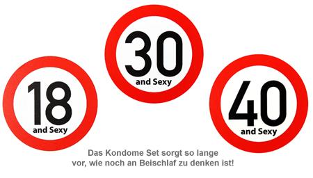 Kondome 4er Set zum Geburtstag - 3