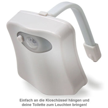 LED Toilettenlicht - WC Beleuchtung - 2