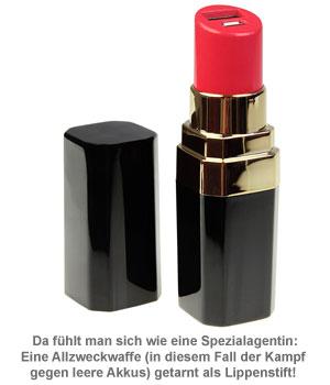 Lippenstift Powerbank - 2