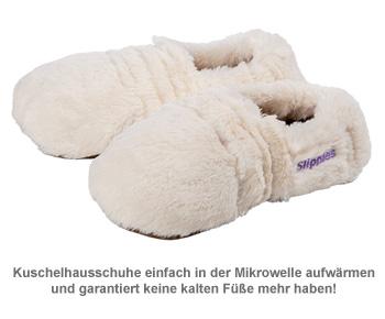 Mikrowellen Hausschuhe mit Lavendelduft - 2