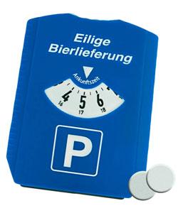 Parkscheibe 3in1 - Eilige Bierlieferung - 3