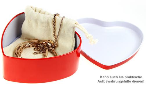 Personalisierte Geschenkbox - Rotes Herz - 3