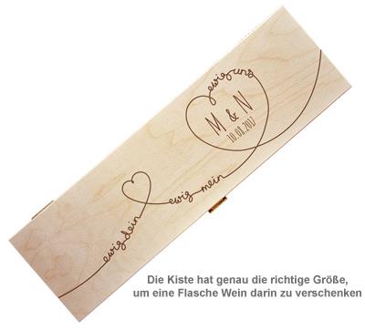 Personalisierte Weinkiste - Ewig Dein - 2