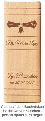 Personalisiertes Sparbuch zur Promotion - 3