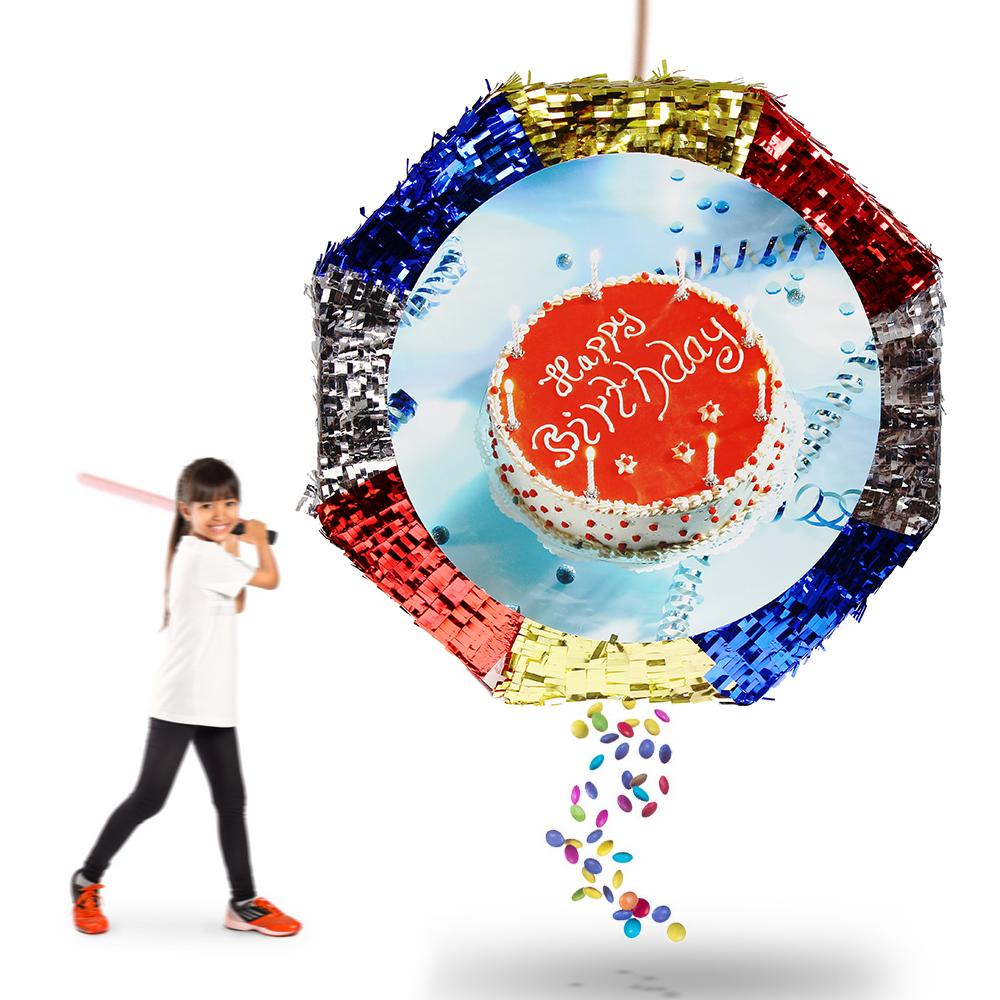 Ausgefallenes Geburtstagsspiel Die Befüllte Pinata Happy Birthday