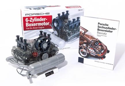 Porsche Motor Bausatz - 290 Teile - 3