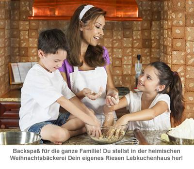 Riesen Lebkuchenhaus - Eigenheim zum Selberbacken - 2