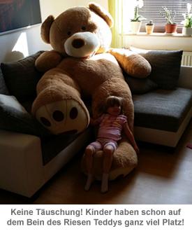 Riesen Teddybär - 240 cm - 2