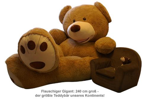 Riesen Teddybär - 240 cm - 4