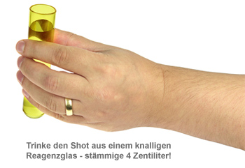 Schnapsgläser - Reagenzgläser 6er Set - 2