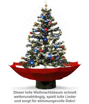 Schneiender Weihnachtsbaum mit Weihnachtsliedern - 2