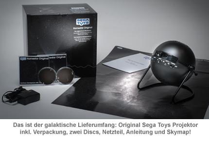 Sega Toys Planetarium - Sternenhimmel Projektor - 2