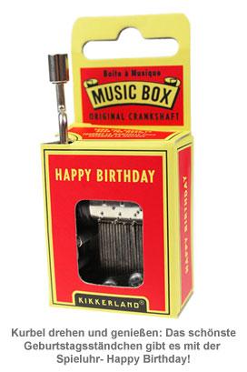 Spieluhr - Happy Birthday - 2