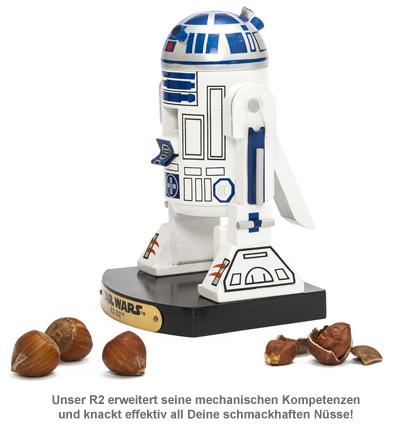 Star Wars Nussknacker - R2D2 - 2