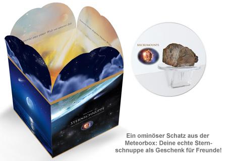 Sternschnuppe für Freunde - Meteorbox - 2