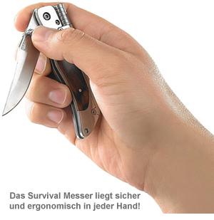 Survival Messer mit Magnesium Feuerstab - 2