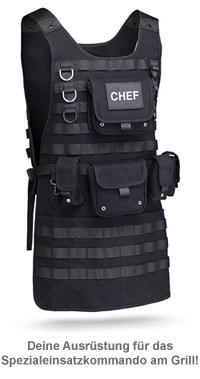 Tactical Grillschürze für Männer - 2