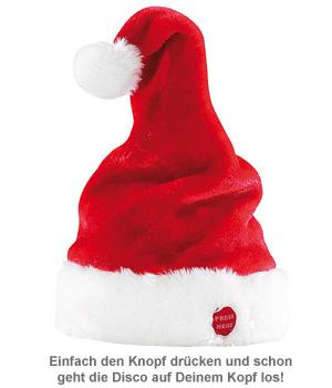 Tanzende und Singende Weihnachtsmütze - 2
