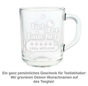 Teetasse mit Gravur - Tiefteetaucher - 2