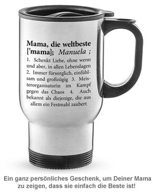 Thermobecher personalisiert - Definition Weltbeste Mama - 2