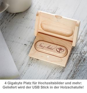 USB Stick mit Gravur zur Hochzeit - 3