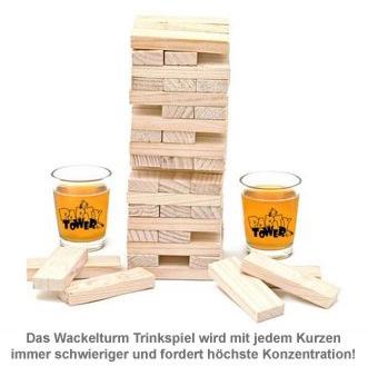 Wackelturm Trinkspiel - 3