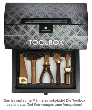 Werkzeug aus Schokolade - Toolbox - 2