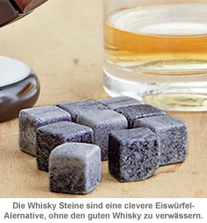Whisky Steine in Holzkiste mit Gravur - College Bester Opa - 3