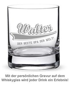 Whiskyglas College Motiv - Bester Opa - 2